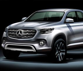 مرسيدس بيك اب القادمة ستتعاون بها مع نيسان لتطوير قدرة السيارة Mercedes-Benz Pickup – المربع نت