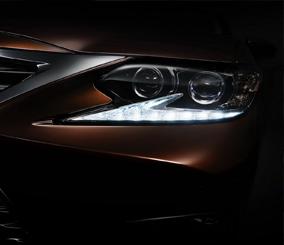 لكزس إي اس 2016 تطرح اول صورة تشويقية لها قبل كشفها رسمياً Lexus ES – المربع نت