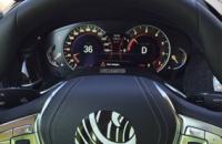 """""""صورة"""" جديدة تظهر عجلة قيادة وعداد بي ام دبليو الفئة السابعة 2016 الجديدة كلياً BMW 7-Series"""