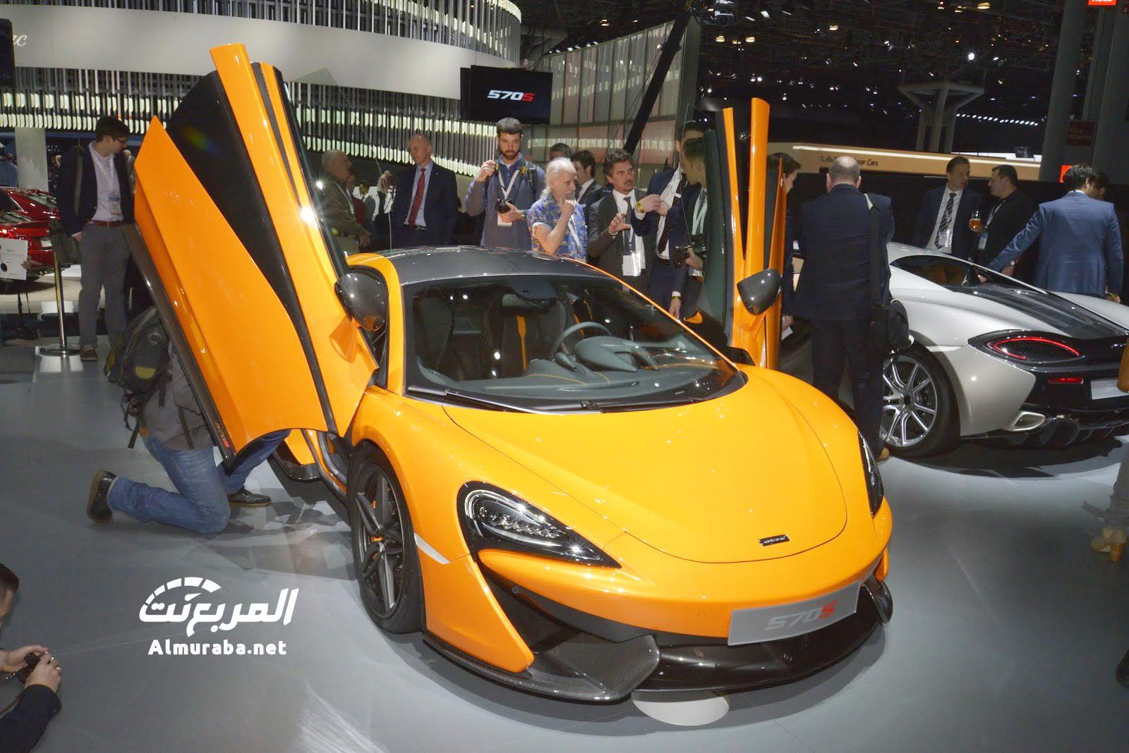 """مكلارين 570 اس كوبيه 2016 النسخة المصغرة """"تقرير ومواصفات وصور"""" McLaren 570S   المربع نت"""