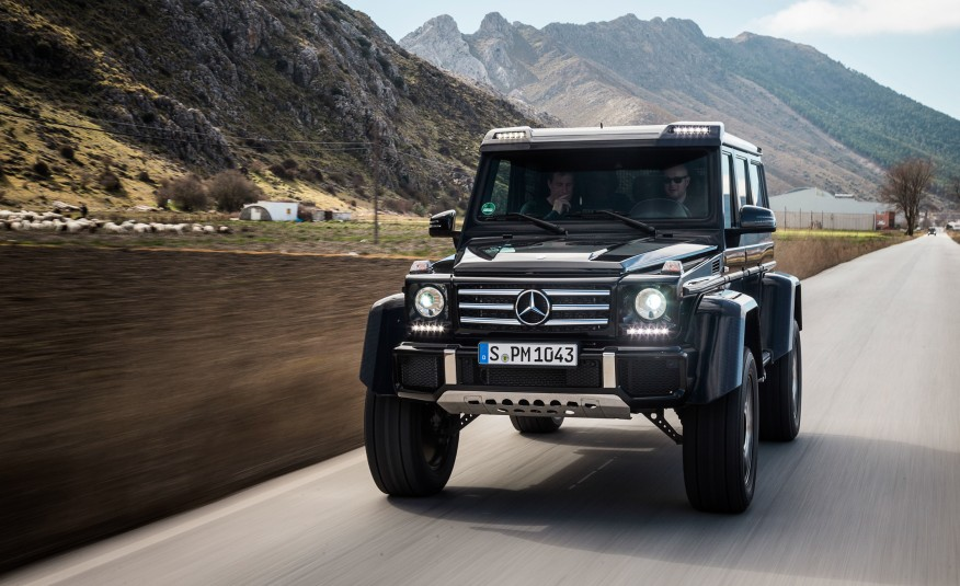 مرسيدس تقرر رسمياً تصنيع جي 500 4x4² وتطرح الأسعار الرسمية لأول مرة Mercedes -Benz G500 – المربع نت