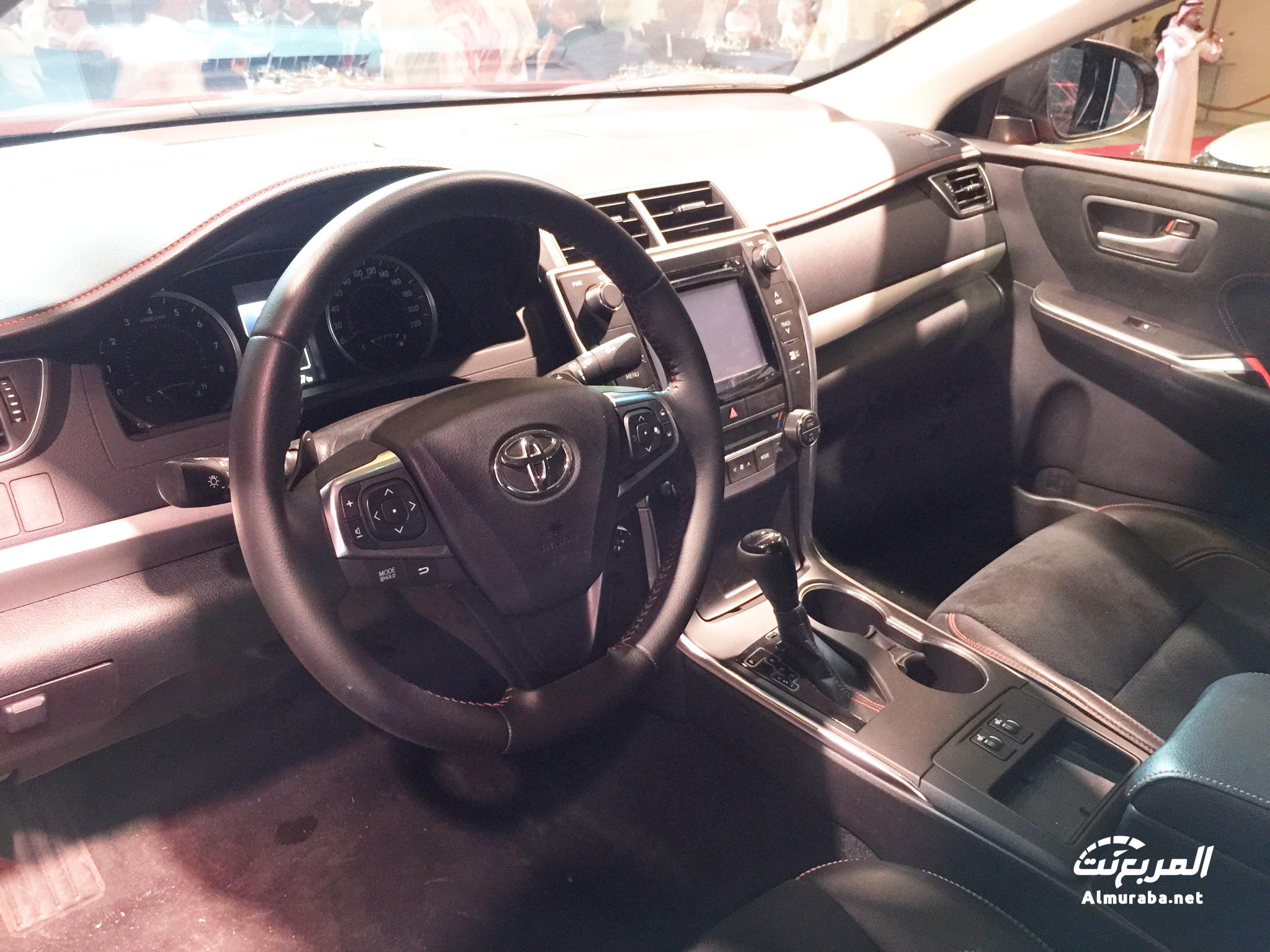 "2016 Toyota Camry Xse >> تدشين تويوتا كامري 2016 في السعودية ""تقرير وفيديو ومواصفات وصور واسعار"" Toyota Camry - المربع نت"