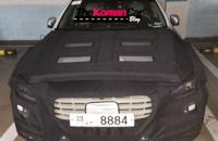 """""""بالصور"""" ظهور هيونداي جينيسيس وهي مغطأة بالكامل في كوريا الجنوبية وبشكل غامض Hyundai Genesis"""