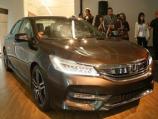 """هوندا اكورد 2016 تكشف نفسها رسمياً وتحصل على فيس ليفت """"صور ومواصفات واسعار"""" Honda Accord"""