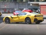 """فيراري اف 12 جي تي او الجديدة كلياً تظهر خلال اختبارها """"صور ومواصفات"""" Ferrari F12 GTO"""