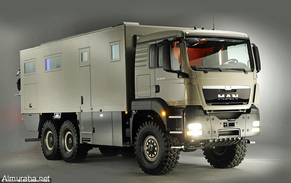 أفخم شاحنة عسكرية متنقلة في العالم بسعر 3,2 مليون ريال سعودي