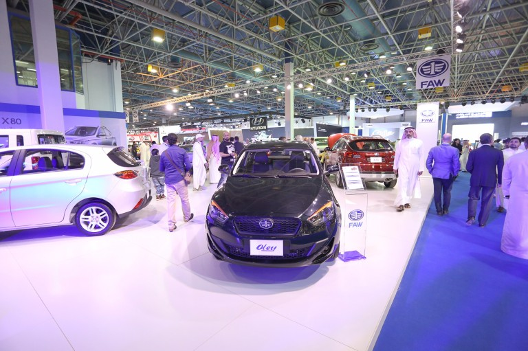 """سيارات """"فاو"""" تستعرض سياراتها وتبهر الزوار في المعرض السعودي الدولي للسيارات"""