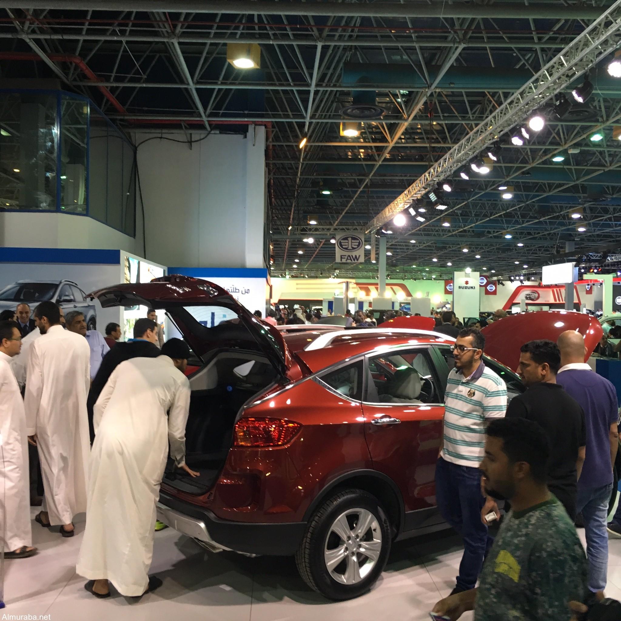 """سيارات """"فاو"""" تستعرض سياراتها وتبهر الزوار في المعرض السعودي الدولي للسيارات - المربع نت"""