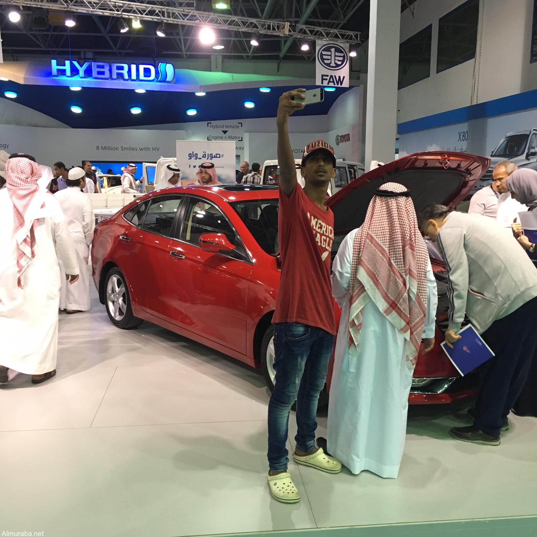 """سيارات """"فاو"""" تستعرض سياراتها وتبهر الزوار في المعرض السعودي الدولي للسيارات   المربع نت"""