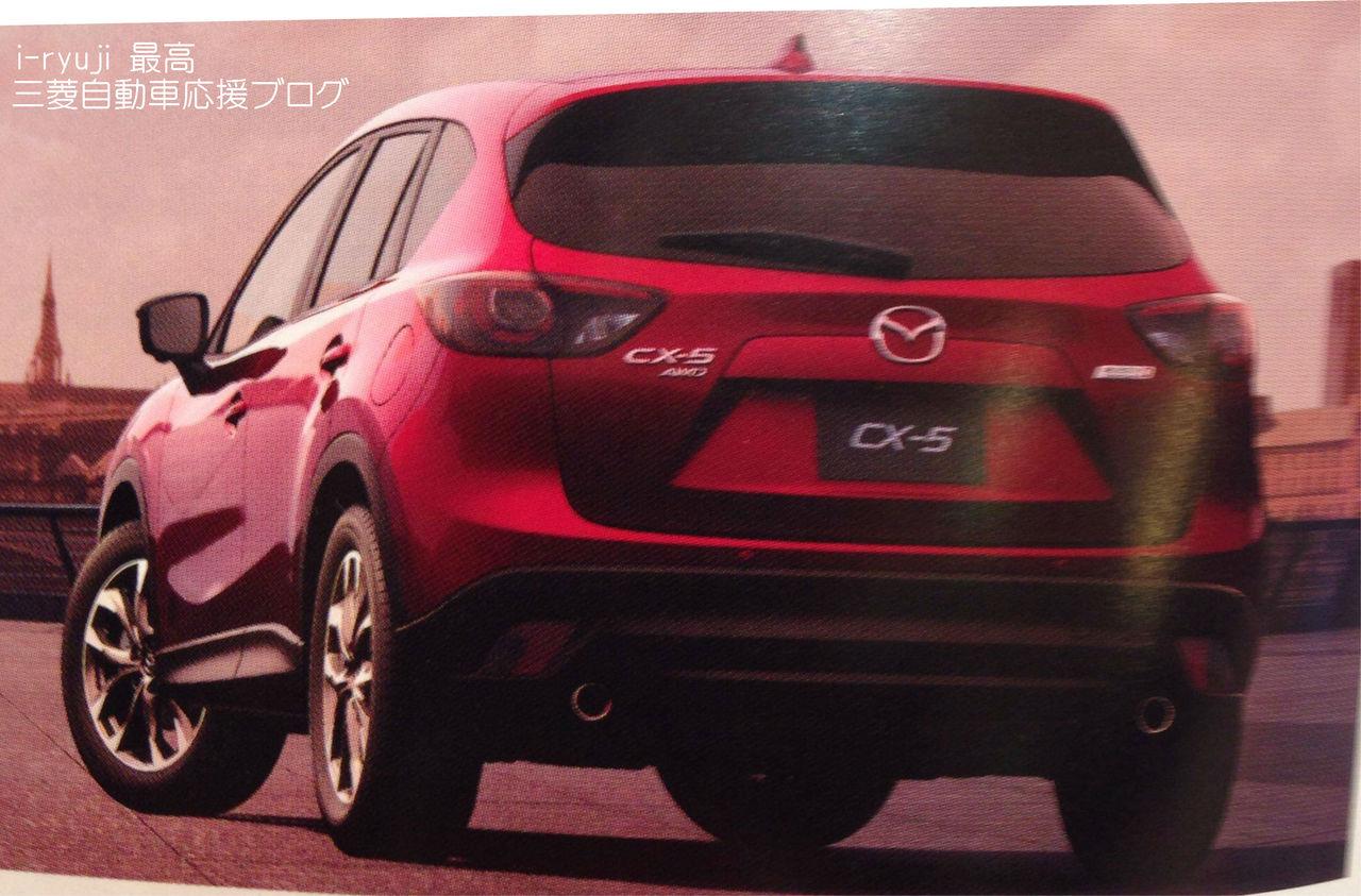 مازدا 2016 سي اكس فايف بالتطويرات الجديدة تظهر أخيراً في إحدى المجلات 2016-CX-5-02.jpg