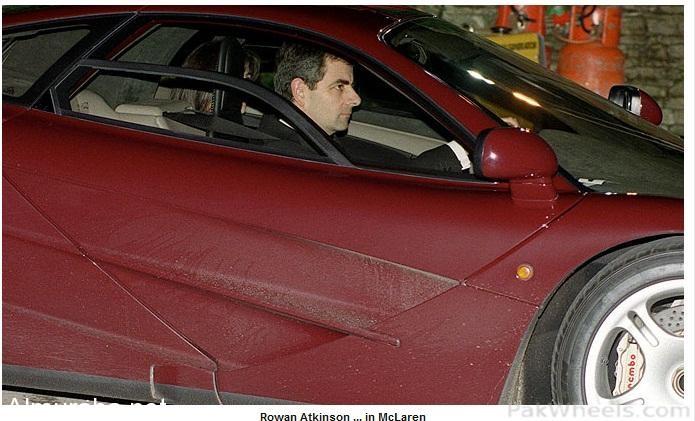 """""""بالصور"""" شاهد سيارات الممثل البريطاني الشهير مستر بين الفارهة - المربع نت"""