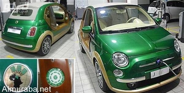 """""""بالصور"""" سيارة القذافي الخضراء والتي استولي عليها ثوار ليبيا - المربع نت"""