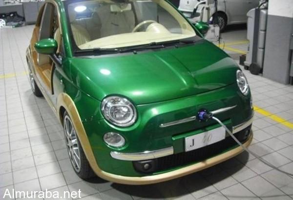 """المربع نت - تابع اخر اخبار السيارات كل يوم - """"بالصور"""" سيارة القذافي الخضراء والتي استولي عليها ثوار ليبيا"""