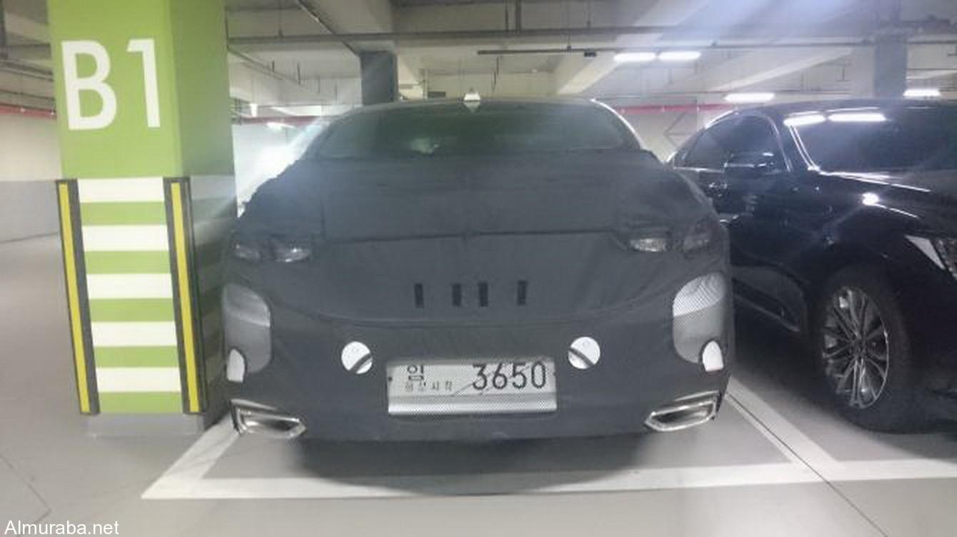 هيونداي ازيرا 2018 بالشكل الجديد كلياً تظهر خلال اختبارها في كوريا الجنوبية Hyundai Azera - المربع نت