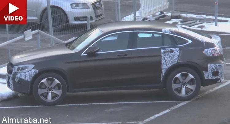 """المربع نت - تابع اخر اخبار السيارات كل يوم - """"فيديو"""" مرسيدس جي ال ايه كوبيه تظهر بشكل تجسسي قبل عرضها في جنيف لمناسبة BMW X4"""