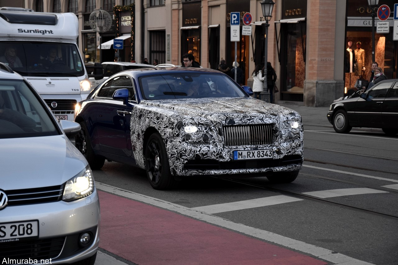 """""""رولز رويس"""" رايث 2016 بالتطويرات الجديدة تظهر في المانيا قبل تدشينها رسمياً """"صور ومواصفات"""" Rolls-Royce Wraith - المربع نت"""