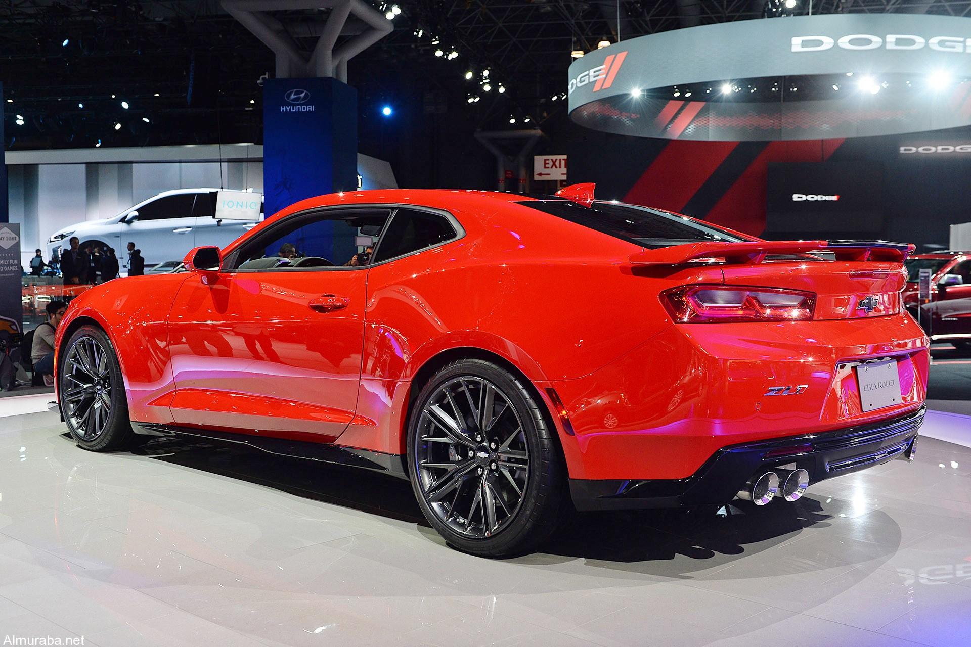 شفرولية كمارو Zl1 2017 الجديدة كلياً تدشن نفسها فيديو ومواصفات وصور Chevrolet Camaro المربع نت