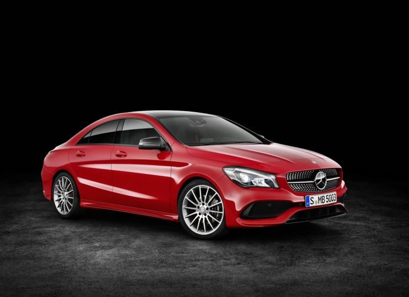 """""""مرسيدس"""" تكشف عن الموديل الجديد من سيارتها Mercedes 2017 CLA - المربع نت"""
