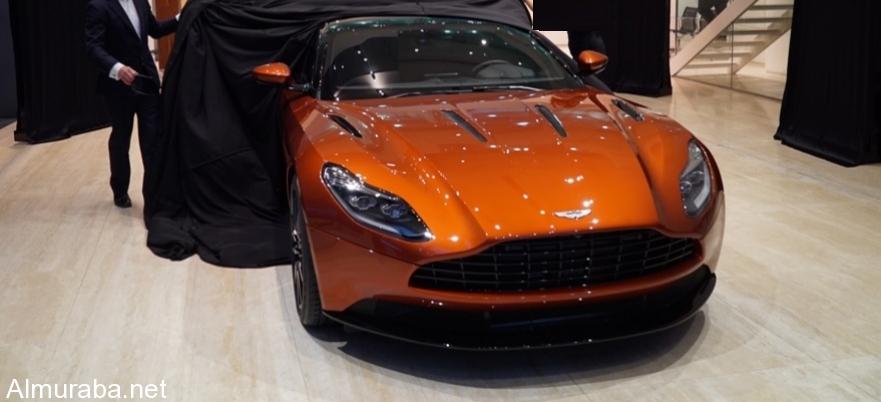 """""""أستون مارتن"""" تكشف عن طراز DB11 الجديد في دبي في حفل خاص - المربع نت"""
