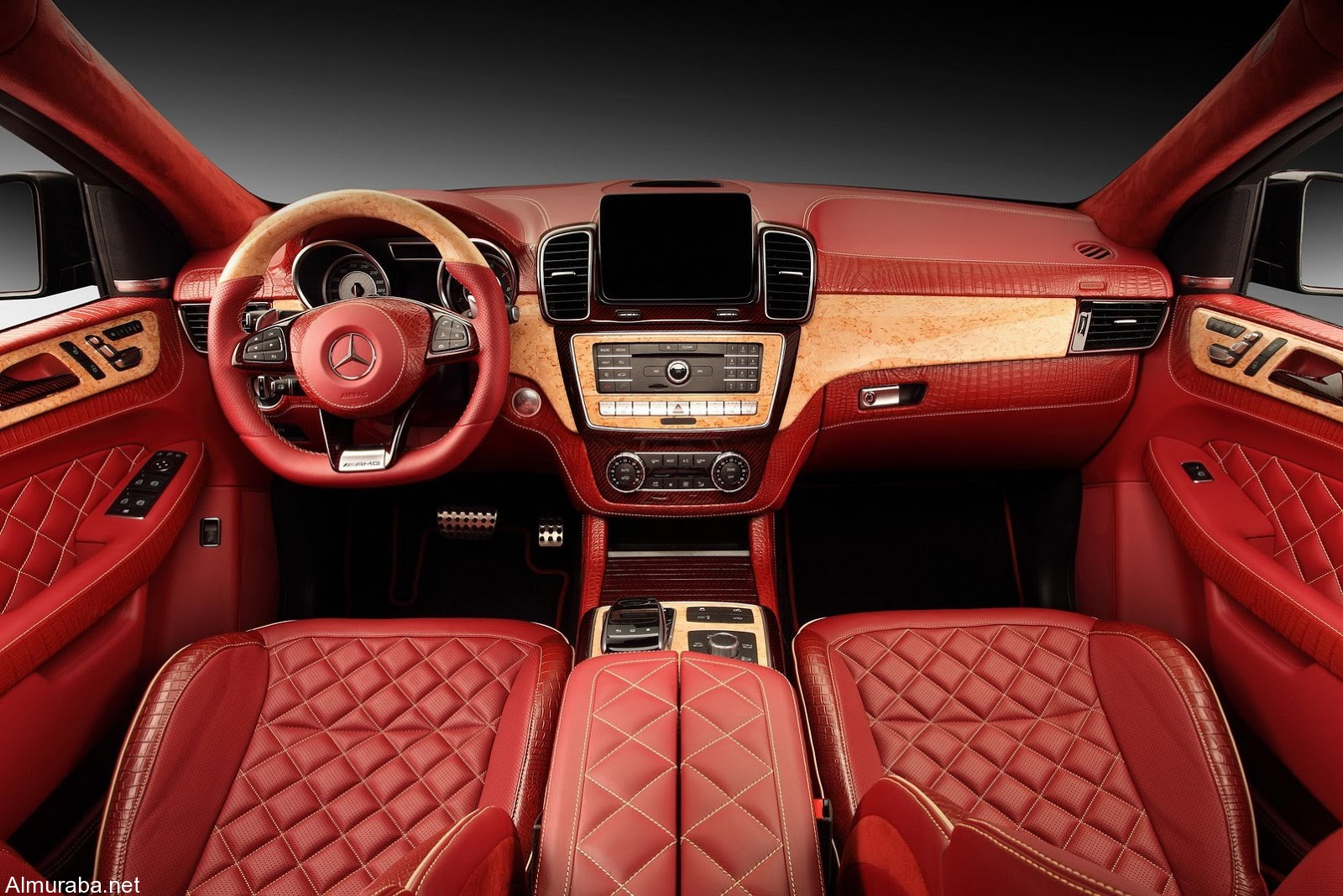 topcar-gle-coupe-red-crocodile-interior-11