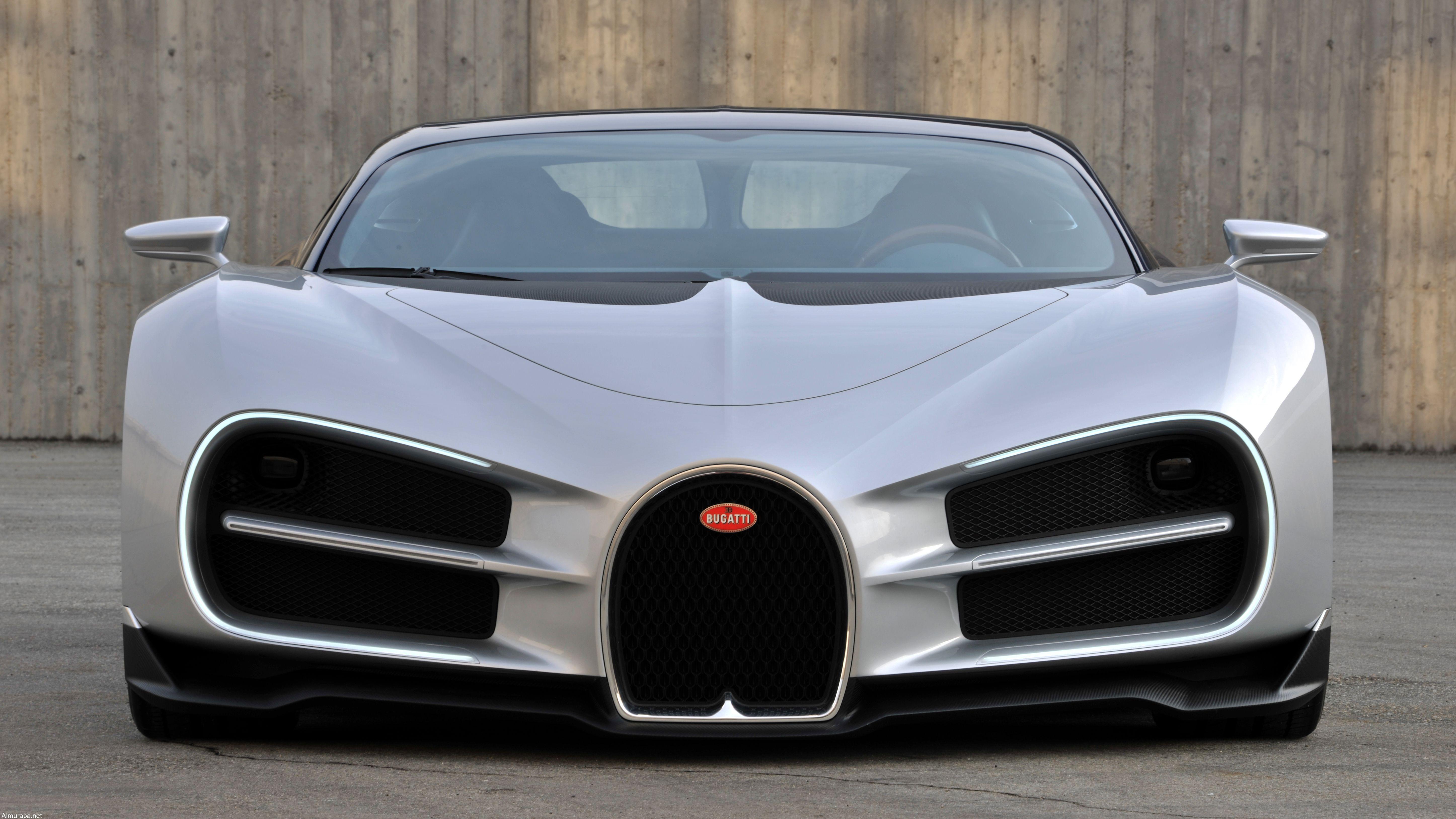تعرف على الشكل الأصلي لبوجاتي شيرون قبل تغييره في موديل الإنتاج Bugatti Chiron | المربع نت