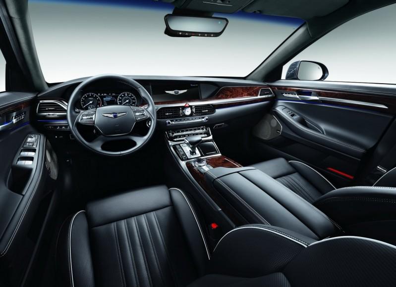 صور ومواصفات جينيسيس G90 الجديدة 2017 Hyundai Genesis المربع نت