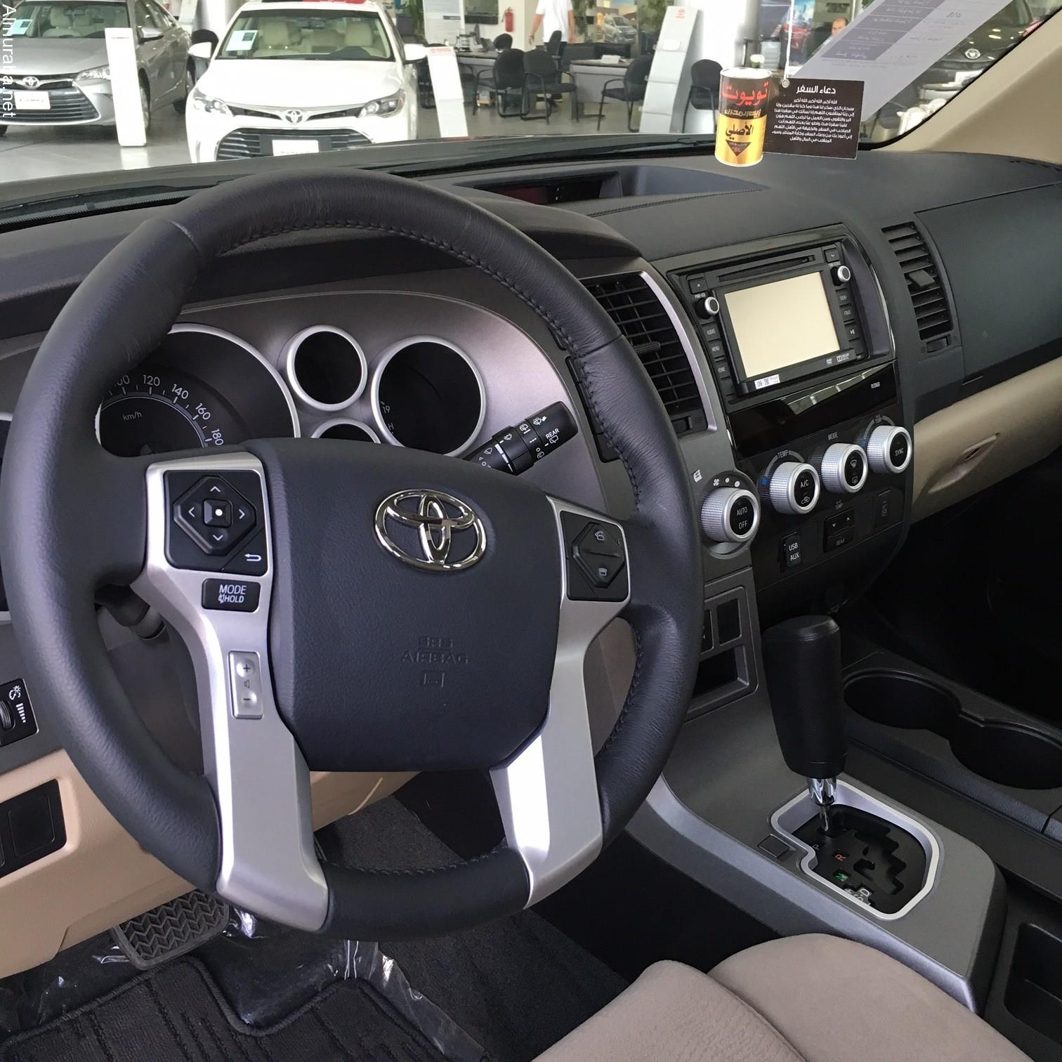 """2020 Toyota Sequoia Limited Spy Photos: تويوتا سيكويا 2016 العائلية لدى عبداللطيف جميل """"تقرير"""