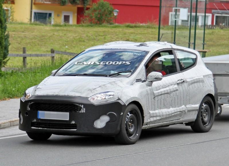 فورد فييستا الجديدة كليا بثلاثة أبواب Ford Fiesta coobra.net