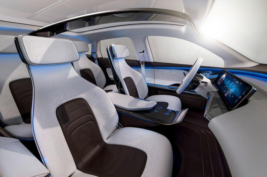 Generation EQ, Interieur, Innenraum mit vier Einzelsitzen