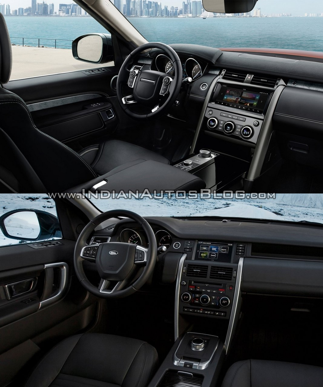 2017 land rover for Land rover discovery 2017 interior