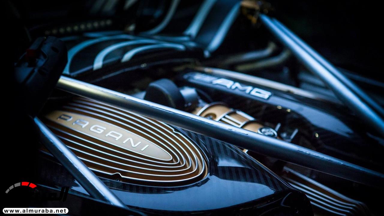 """""""باجاني"""" تنشر صورة تشويقية للهوايرا رودستر وتكشف عن بعض تفاصيلها Pagani Huayra Roadster   المربع نت"""