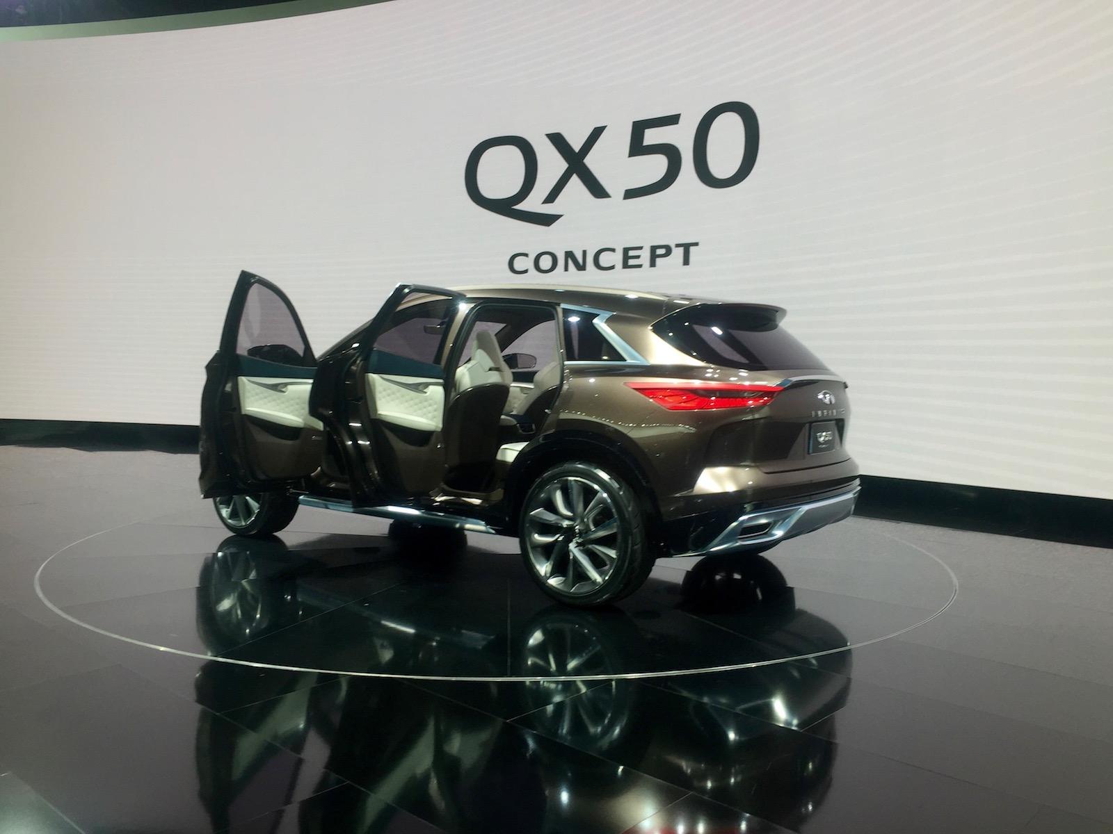 إنفينيتي تعلن عن QX50 كونسيبت بمعرض ديترويت Infinity Infiniti-QX50-NAIAS-Concept-13