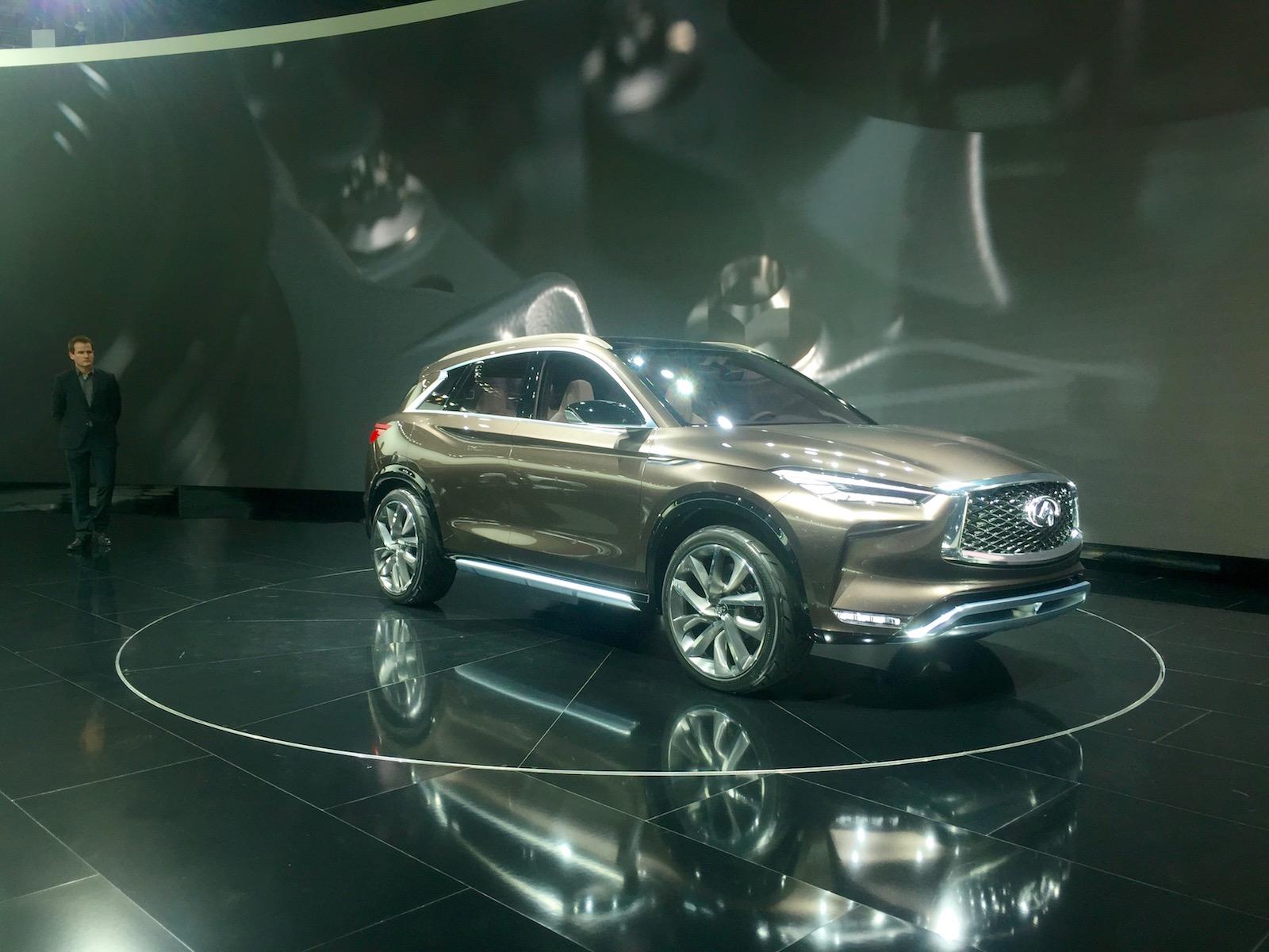 إنفينيتي تعلن عن QX50 كونسيبت بمعرض ديترويت Infinity Infiniti-QX50-NAIAS-Concept-4