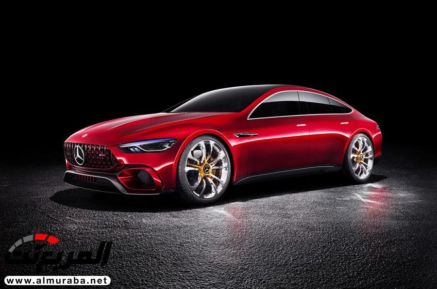 """""""مرسيدس إيه إم جي"""" تكشف عن كونسبت GT تمهيدًا لطرح النسخة الإنتاجية في 2019 Mercedes-AMG   المربع نت"""