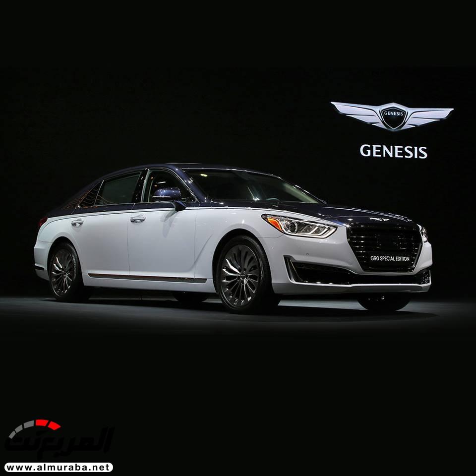 """2020 Genesis G90: """"جينيسيس"""" تكشف عن إصدار خاص للـ G90 مشابه لبنتلي في كوريا"""