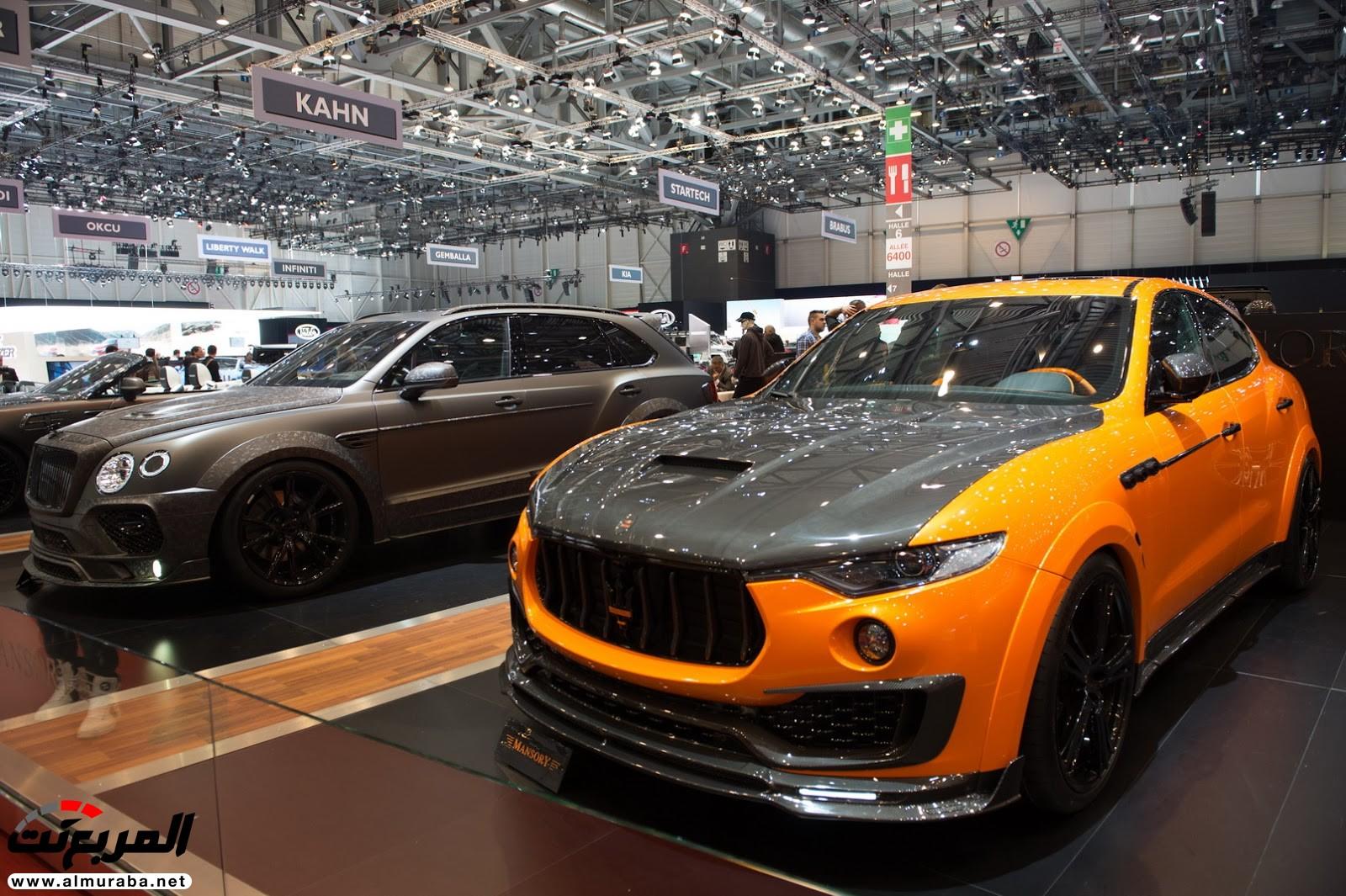 """صور أهم السيارات المعدلة من """"مانسوري"""" في معرض جنيف  Mansory-G3"""