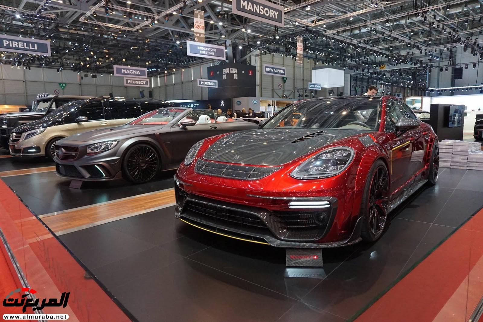 """صور أهم السيارات المعدلة من """"مانسوري"""" في معرض جنيف  Mansory-geneva-livepics-2017-1"""