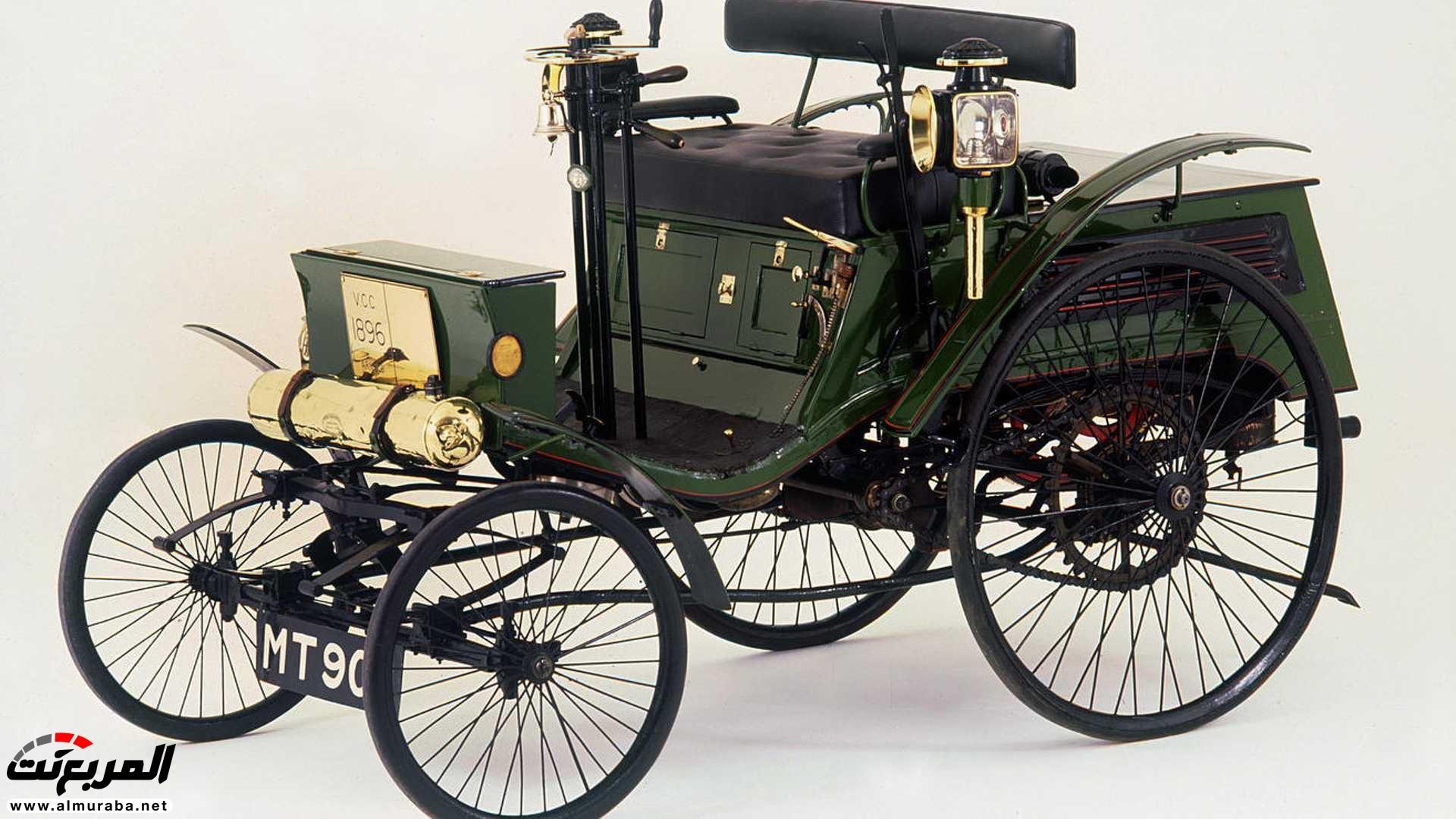 هذه هي أول سيارة تحصل على مخالفة سرعة في التاريخ | المربع نت