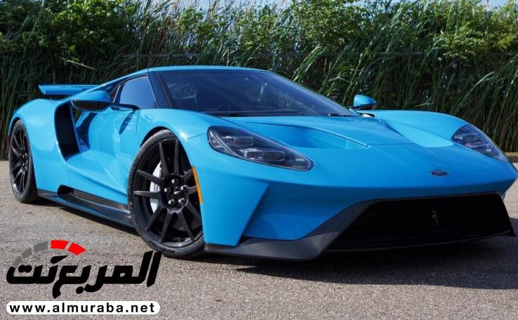 فورد GT الجديدة تبدو فاتنة في هذا الطلاء الأزرق   المربع نت