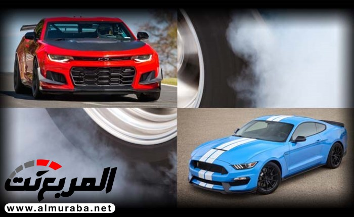 شيفروليه كمارو ZL1 أم فورد موستنج شيلبي GT350 – أيّهما تفضل؟ | المربع نت