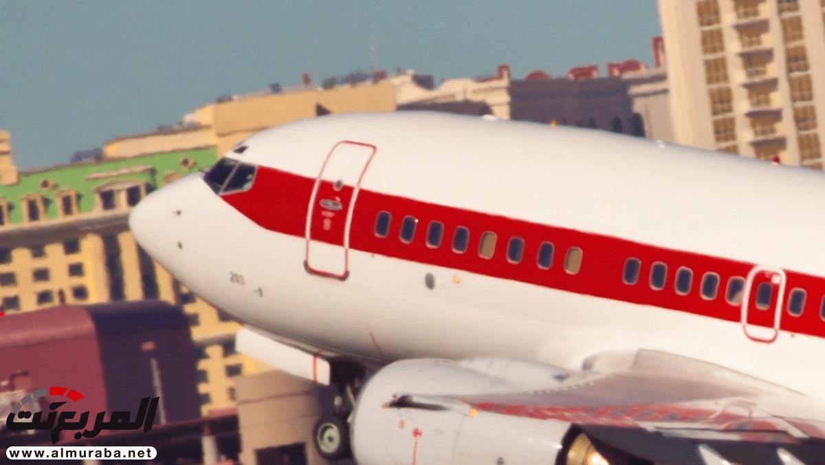 ما سر طائرات الخط الأحمر في أميركا؟ | المربع نت