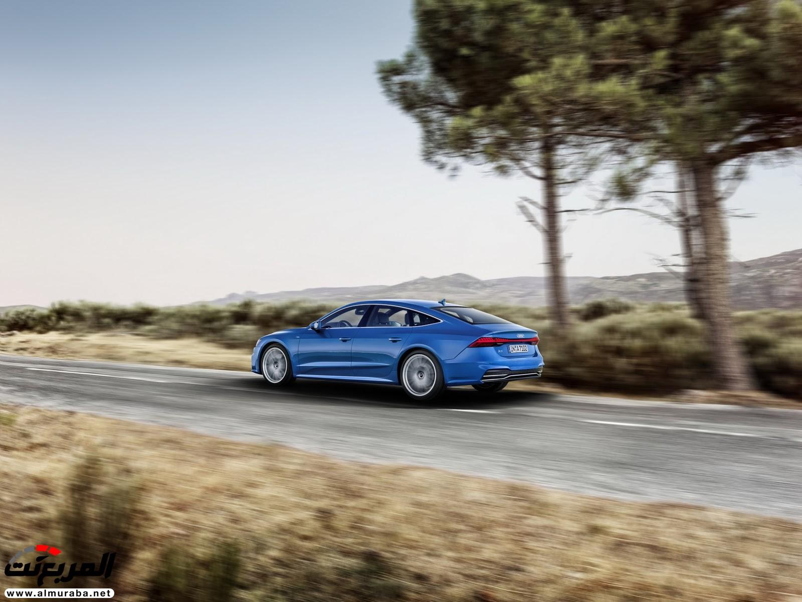 """أودي A7 سبورت باك 2019 الجديدة كلياً تكشف نفسها رسمياً """"صور ومواصفات واسعار توقعية"""" Audi A7   المربع نت"""