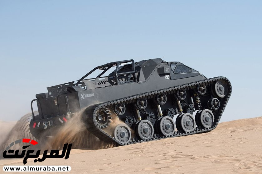 ريتشارد هاموند يجرّب أسرع دبابة