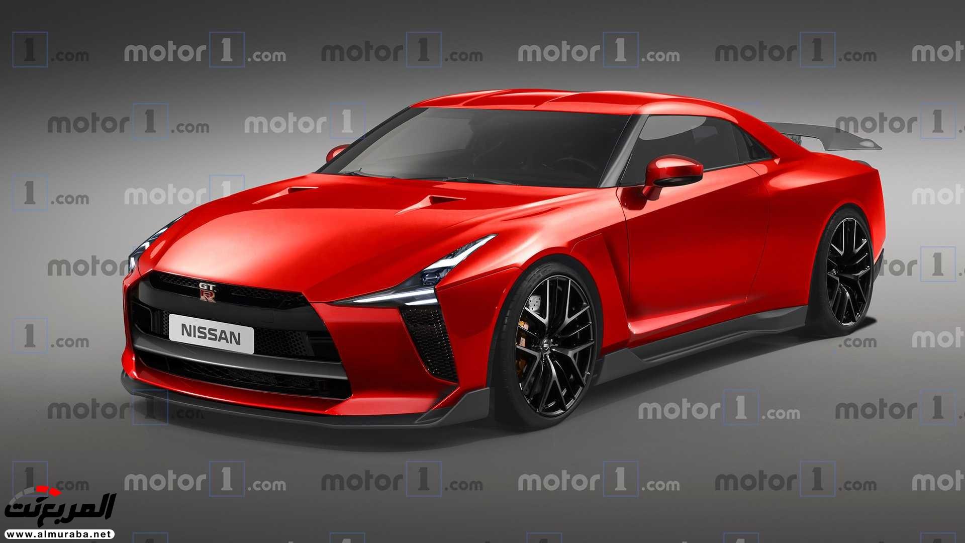 نيسان GT-R القادمة 2020 تظهر في صور تخيلية – المربع نت