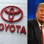 ترامب يهدد تويوتا.. وصانعة السيارات اليابانية ترد
