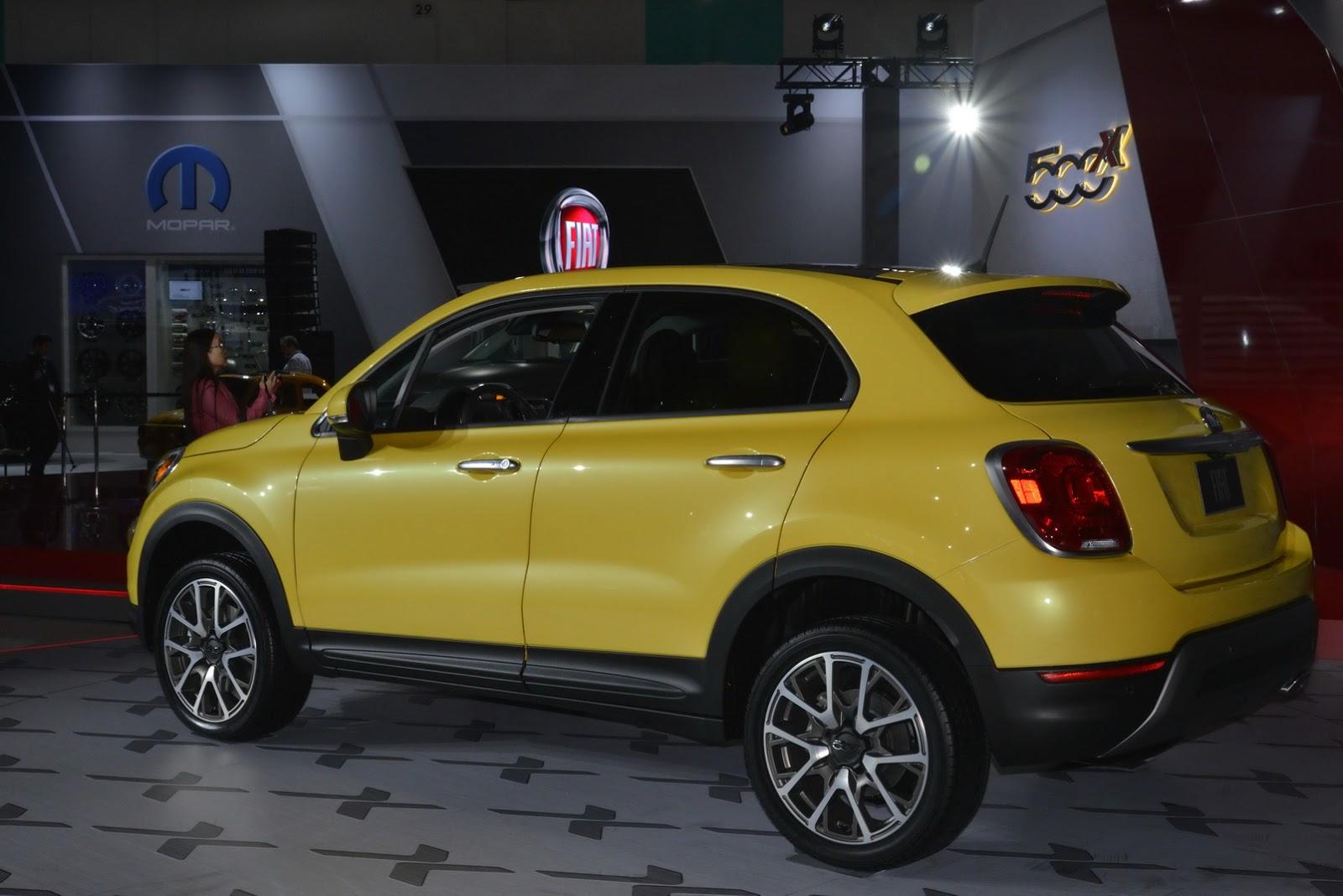 """فيات 500X 2015 تحصل على تطويرات جديدة """"صور ومواصفات"""" Fiat 2015 – المربع نت"""