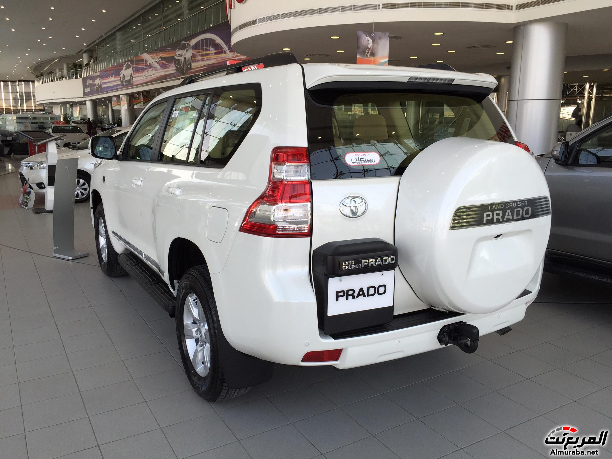 """تويوتا برادو 2015 60 عام في السعودية """"فيديو ومواصفات واسعار"""" Toyota Prado   المربع نت"""