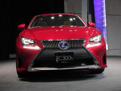 شاهد الفيديو الاول والصور للسيارة لكزس كوبيه 2014 Lexus RC Coupe