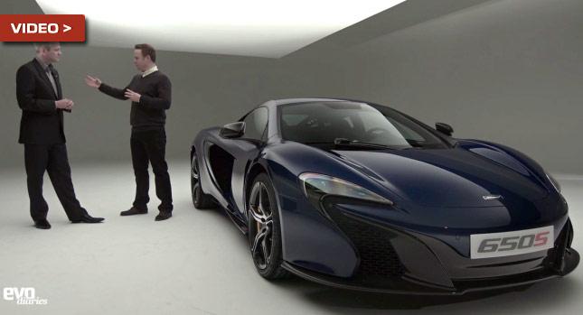 """""""بالفيديو"""" أول نظرة تفصيلية لسيارة ماكلارين 650 اس الجديدة"""