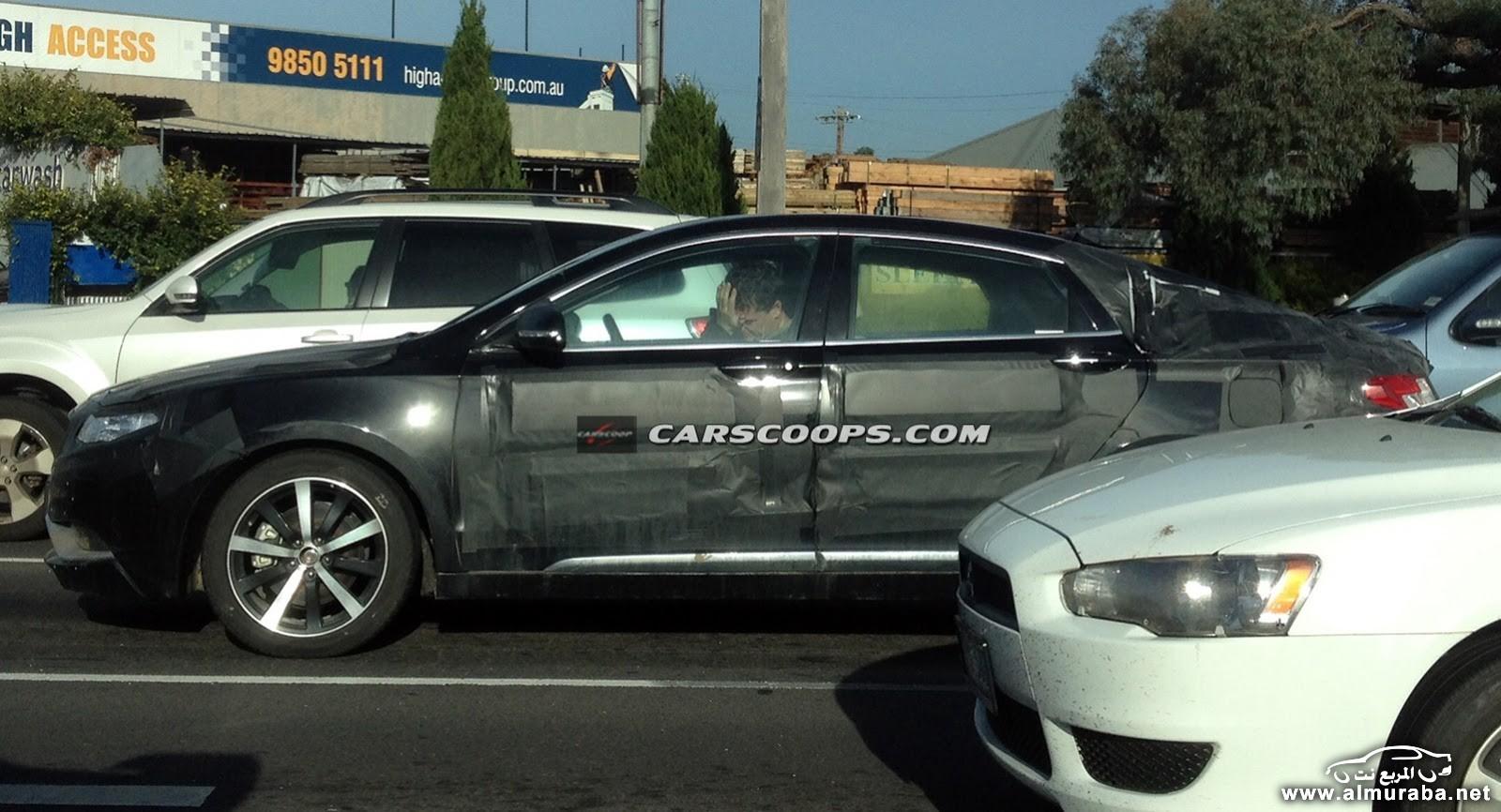 """""""صور تجسسية"""" تلتقط سيارة سيدان جديدة مموهه في استراليا ولكن من هي؟"""
